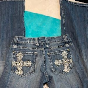 Miss me boot cut jeans 27